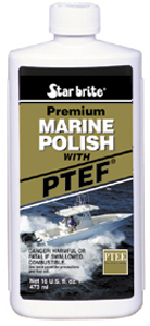 Starbrite Premium Marine Polish Boat Wax With PTEF (16 oz.)