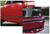 "Style Guard Chrome & Black Side Molding (2"" x 16ft.)"