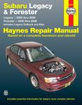 Subaru Legacy & Forester Haynes Repair Manual (2000-2009)