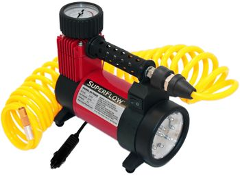 SuperFlow® 12V Air Compressor with LED Light