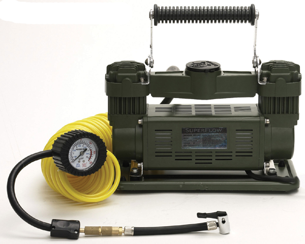 Image of SuperFlow Dual Cylinder Air Compressor