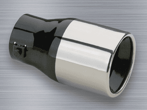 """Superior Stainless Steel Round Bolt-On Exhaust Tip (1¾"""" to 2¼"""" x 6"""")"""