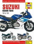 Suzuki GS500 Twin Haynes Repair Manual (1989 - 2006)