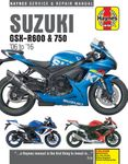 Suzuki GSX-R600 & 750 Haynes Repair Manual (2006-2016)