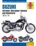Suzuki Intruder, Marauder, Volusia and Boulevard Haynes Repair Manual (1985-2019)
