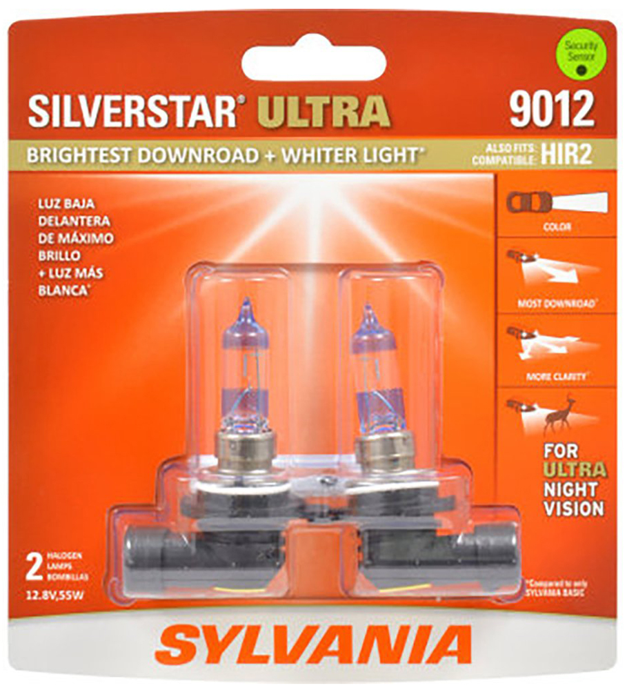 Sylvania 9012 SilverStar Ultra Twin Pack