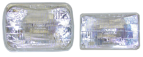 Sylvania SilverStar Halogen Sealed Beam Lights -  6054ST SILVER STAR HALOGEN