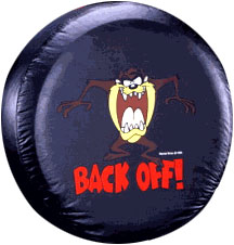 Image of Taz Back Off Spare Tire Cover