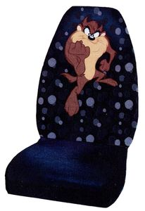 Taz with Attitude Seat Cover