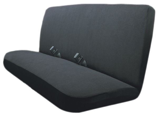 Peachy Terry Velour Black Bench Seat Cover Cjindustries Chair Design For Home Cjindustriesco