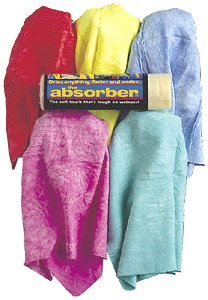 "Image of ""The Absorber Synthetic Drying Chamois (27"""" x 17"""") - Teal Green"""