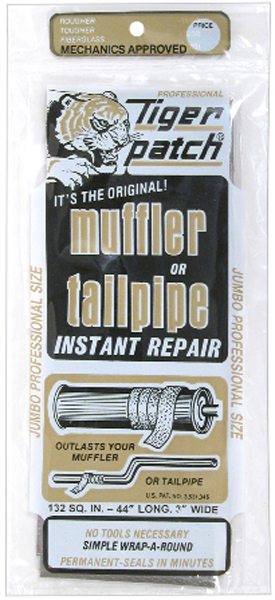 Image of Tiger Patch Jumbo Muffler & Tailpipe Repair Tape