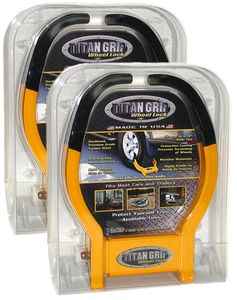 Titan Grip Wheel Locks w/Same Key