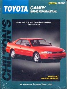 Toyota Camry Chilton Manual