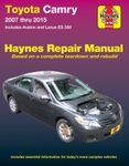 Toyota Camry and Avalon & Lexus ES 350 Haynes Repair Manual (2007 -2015)