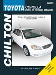 Toyota Corolla Chilton Repair Manual (2003-2013)