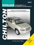 Toyota Highlander & Lexus RX300 and 330 Chilton Repair Manual (1999-2007)