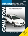 Toyota Matrix & Pontiac Vibe Chilton Repair Manual (2003-2008)