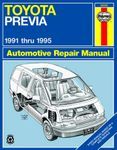 Toyota Previa Haynes Repair Manual (1991 - 1995)