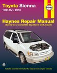 Toyota Sienna Haynes Repair Manual (1998-2010)