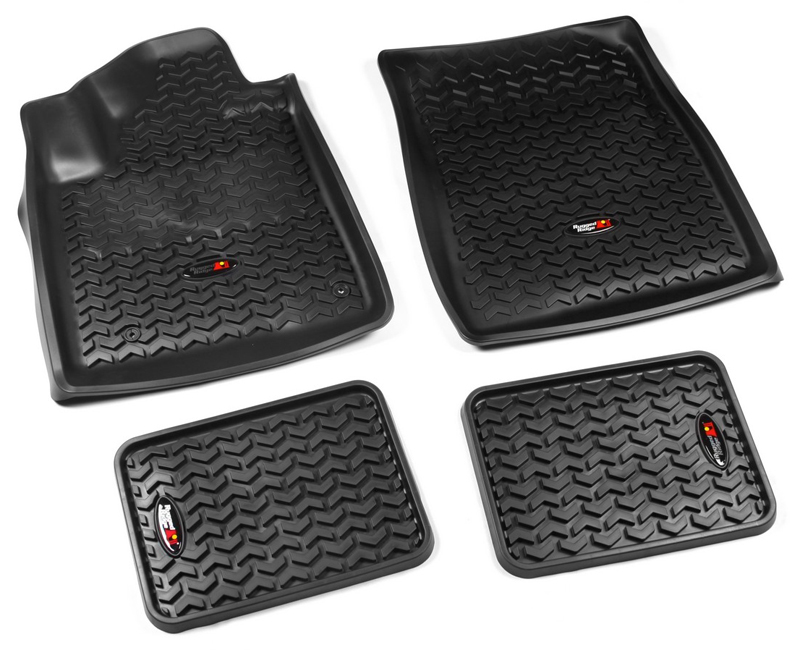 Toyota Tundra All Terrain Floor Liners-4 Piece Set (2007-2011)