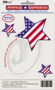 Trimbrite American Expressions Proud American Decals