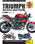 Triumph 1050 Sprint, Speed Triple & Tiger Haynes Repair Manual (2005-2015)