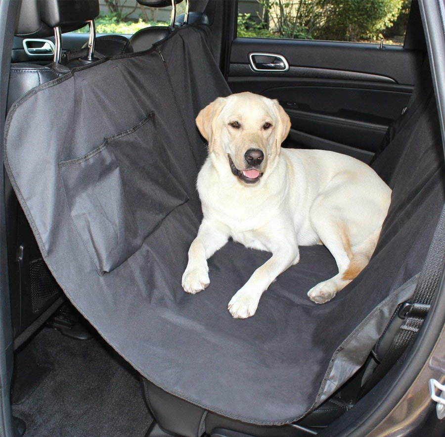 Image of Hammock Style Rear Pet Seat Cover
