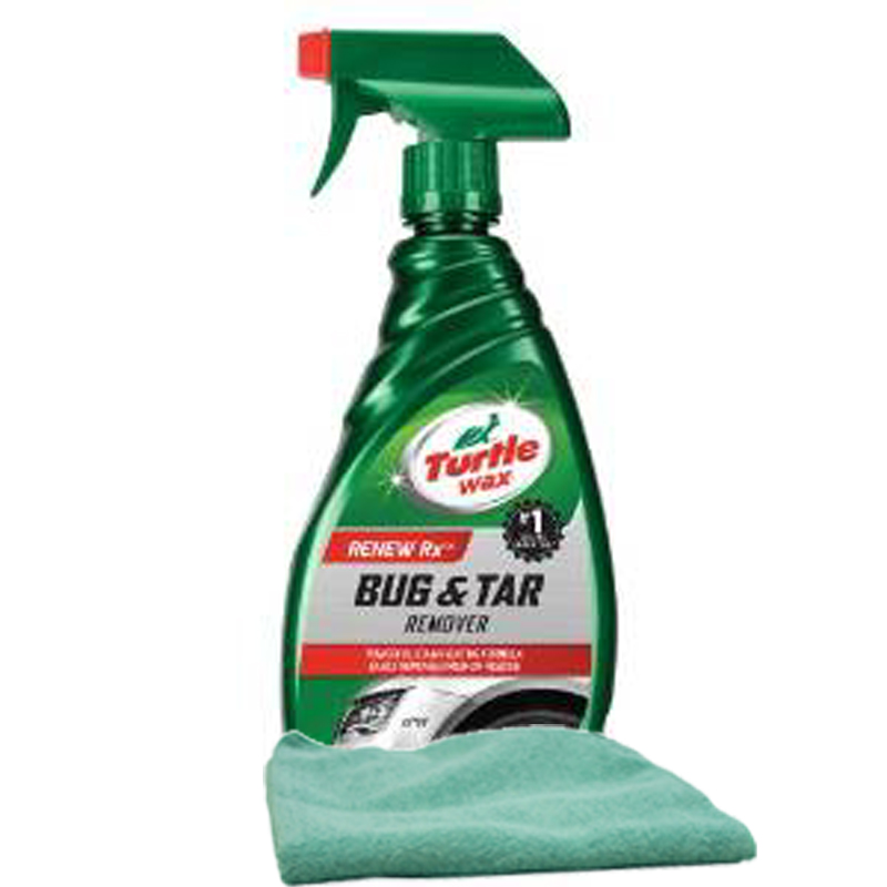 Image of Turtle Wax Bug & Tar Remover (16 oz.) & Microfiber Cloth Kit