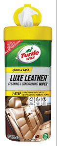 Turtle Wax Quick and Easy Luxe Leather Wipes