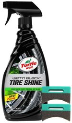Turtle Wax Wet N Black Tire Shine 23 Oz Amp Applicator
