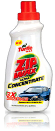 Turtle Wax Zip Wax Ultra Concentrate Car Wash
