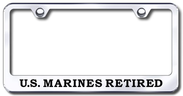 Us Marine Corp Retired Laser Etched Stainless Steel