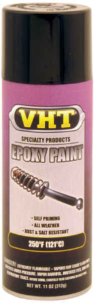 Image of VHT Epoxy All-Weather Paints (11 oz.) - Gloss Black