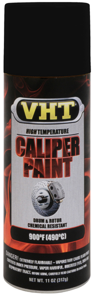 Image of VHT High-Temp Brake Caliper Paint (11 oz.) - Real Red