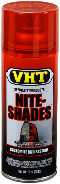 Image of VHT Nite-Shades Translucent Red Tail Light Lens Coating (10 oz.)