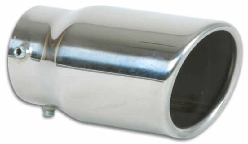 Vibrant Stainless Steel Oval & Round Exhaust Tips (Bolt-On)