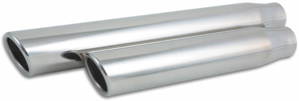 Vibrant Stainless Steel Truck/SUV Exhaust Tips (Weld-On) -  1583