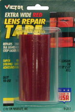 "Image of ""Victor Extra Wide Lens Red Repair Tape (3 5/8"""" X 60"""")"""