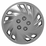 "Viper 15"" Chrome Plated Wheel Covers (Set of 4)"