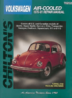 Volkswagen Air-Cooled (1970-81) Chilton Manual