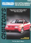 Volkswagen Cabriolet/Fox/Golf/Jetta (1990-98) Chilton Manual