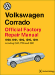 Volkswagen Corrado Repair Manual: 1990-1994