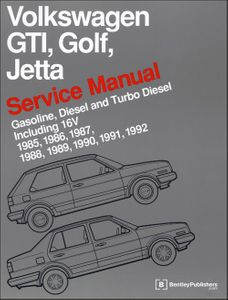 Volkswagen GTI, Golf & Jetta Service Manual: 1985-1992