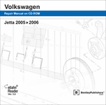 Volkswagen Jetta Repair Manual on CD (2005-2006)
