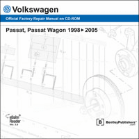 Volkswagen Passat Repair Manual on CD-ROM (1998-2005)