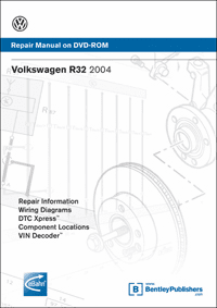 Volkswagen R32 Repair Manual on DVD-ROM (2004)