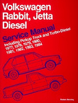 Volkswagen Rabbit, & Jetta Diesel Service Manual (1977-1984)