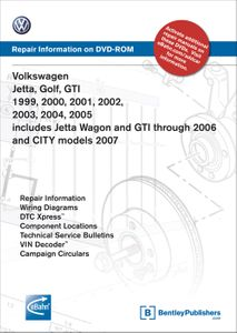 Volkswagen Repair Manual on CD-ROM (1999-2005)