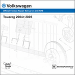 Volkswagen Touareg Repair Manual on CD-ROM (2004-2005)